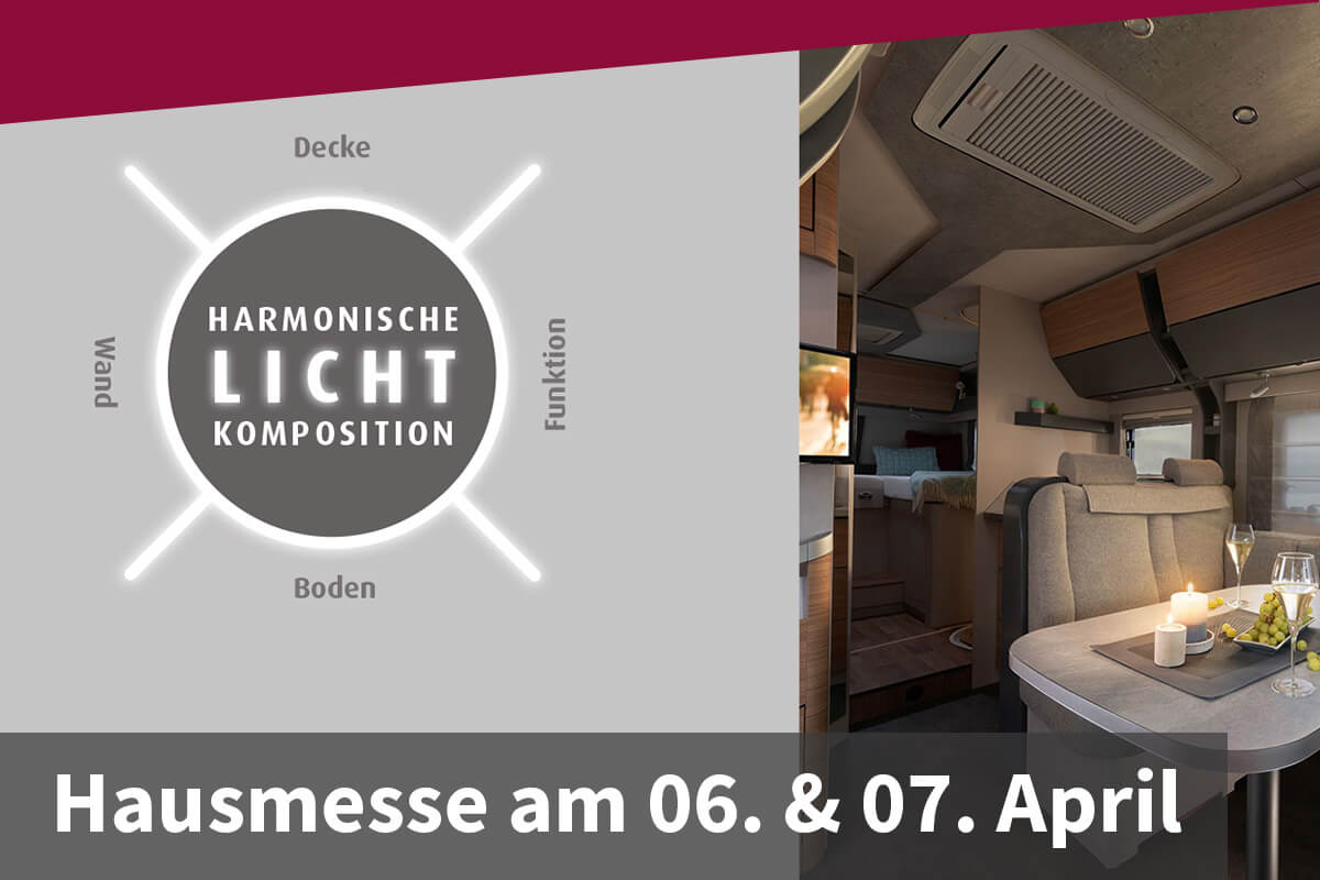 Hausmesse am 06. & 07. April